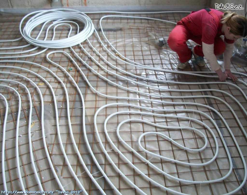 Hadice pro podlahové topení