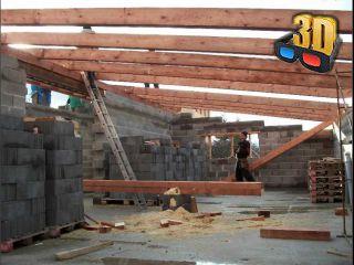 Stavba střechy svépomocí